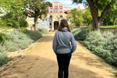 Zahrady zámku nabízí spoustu skvělých výhledů