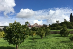 Zahrady zámku nabízí skvělá místa pro odpočinek