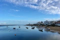 Přístav u ostrova Ilha de Faro
